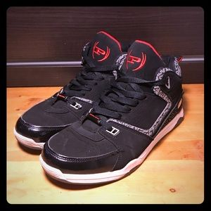 Basketball Sneakers 'Red/Grey'